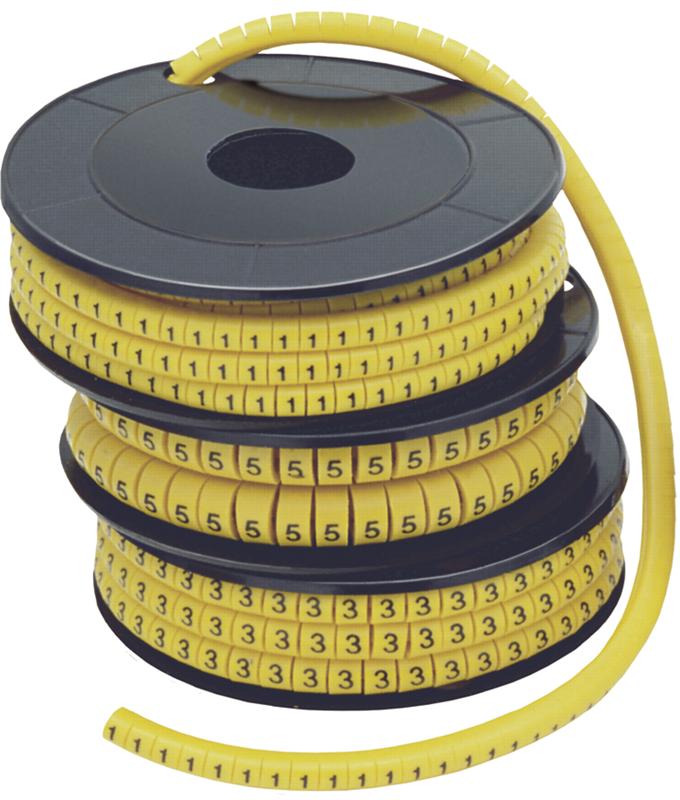 """Маркер МК1-2,5мм символ """"3"""" 1000шт/упак ИЭК"""