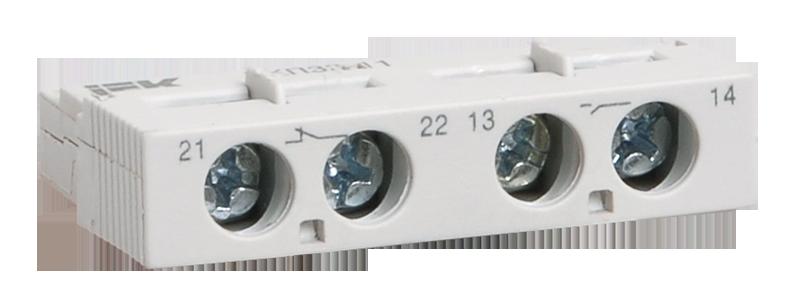 Дополнительный контакт поперечный ДКП32-11 ИЭК