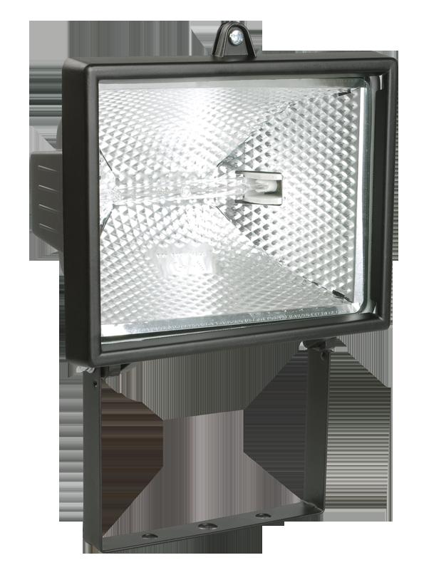 Прожектор ИО 500Вт черный (ИЭК)