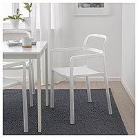 ЮППЕРЛИГ Легкое кресло для дома/сада, светло-серый, фото 1
