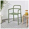ЮППЕРЛИГ Легкое кресло для дома/сада, зеленый