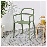 ЮППЕРЛИГ Легкое кресло для дома/сада, зеленый, фото 1