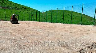Подготовка песчано-щебеночного основания
