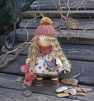 Кукла авторская тектильная