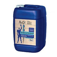 Жидкая добавка AlinEX Aquaproof гидроизоляция