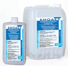 Биодез - дезинфицирующее средство на основе ЧАС и бигуанидина, 5 литров. РК