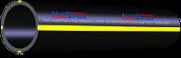 Труба ПЭ 90 х 3,5 мм SDR 26-4 бар вес 1пог.м-0,969 кг для газа