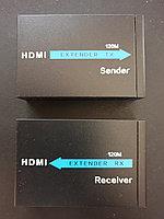 Усилитель сигнала HDMI кабелем CAT5/6  до 120 метров EXTENDER over Ethernet IR