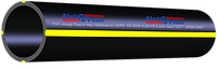 Труба ПЭ 140 х 8,0 мм SDR17,6- 6 бар вес1пог.м 3,35 кг для газа