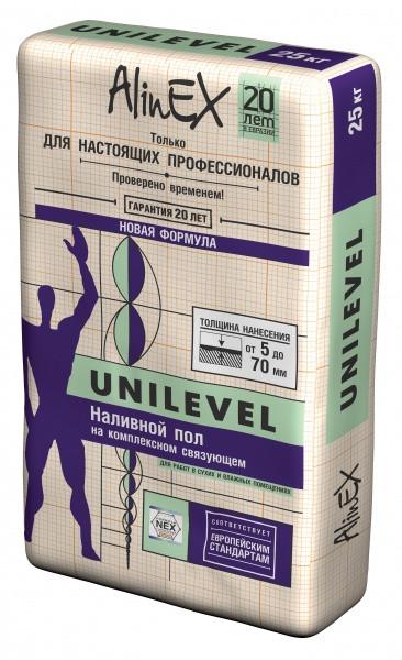 Наливной пол на комплексном связующем AlinEX Unilevel