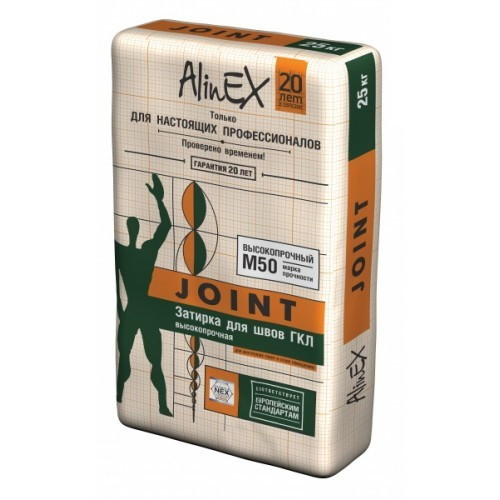 Затирка для швов белая AlinEX Joint