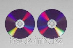 Диски DVD+R DL track двухслойные 8.5gb 8x NO box (50)