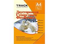 Фотобумага А-4 300г Track 2х сторонний глянец (50)