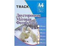 Фотобумага А-4 250г Track 2х сторонний матовый(50)