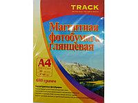 Фотобумага А-4 640г Track магнитная бумага глянец (10)