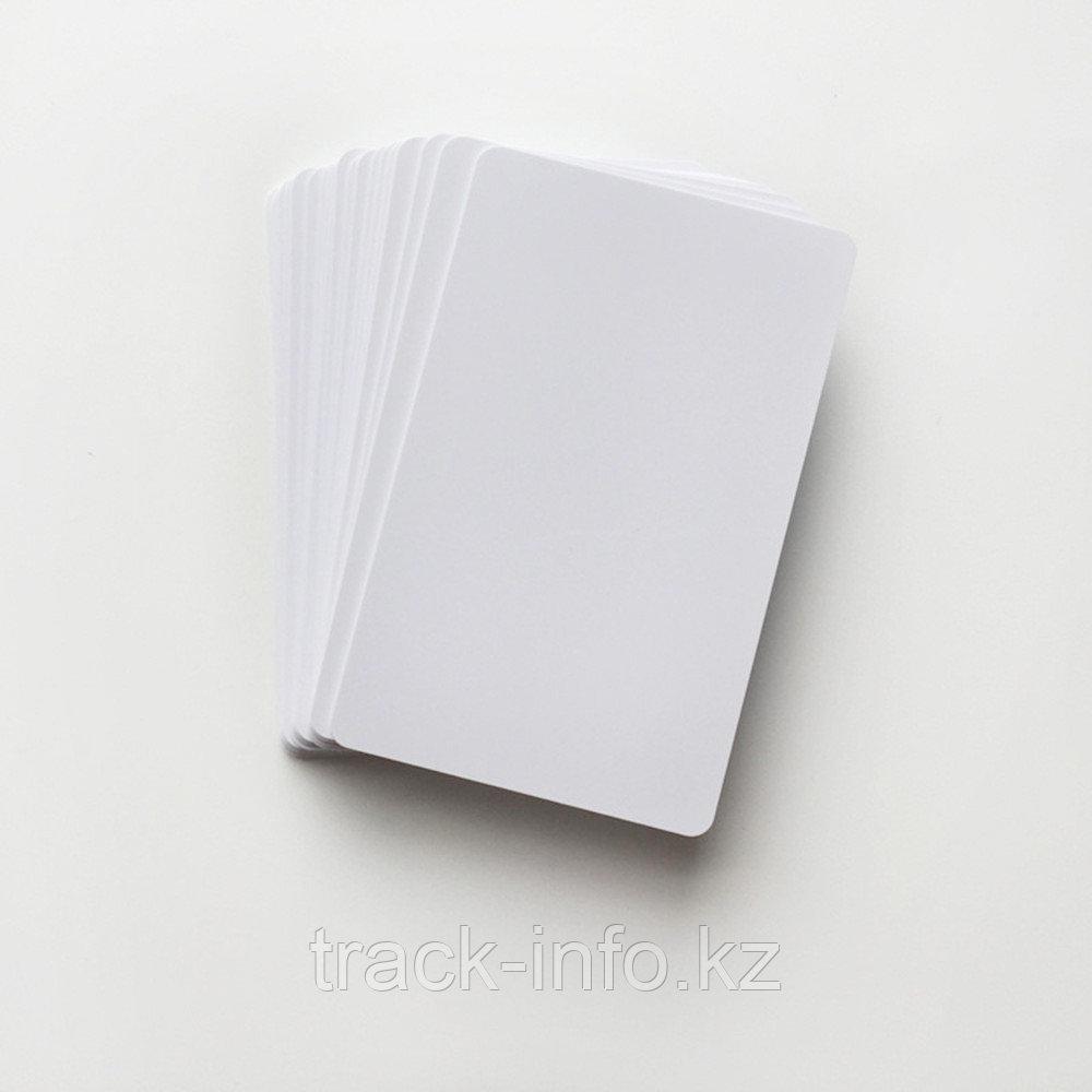 Для визиток PVC белая (50)