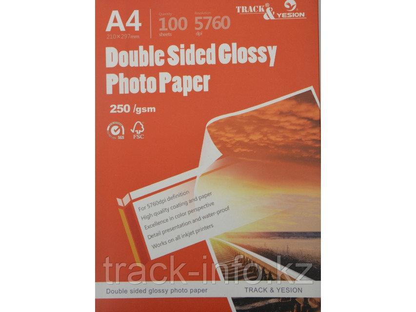 Фотобумага TRACK-YESION А4 2стр 130гр глянец (100)