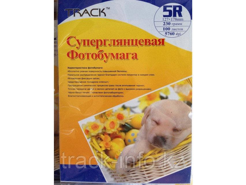 Фотобумага TRACK premium 5R 200 гр 100 лист