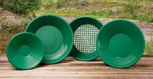 Тарелки для добычи золота (набор лотков для старателя, 4 шт.)