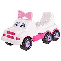 """Машинка-каталка детская """"Весёлые гонки"""" (для девочек) М4477"""