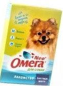 """Омега Neo. """"Блестящая шерсть"""" с биотином, для собак 90 таб."""