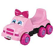 """Машинка детская """"Весёлые гонки"""" (для девочек), Розовая, М4457"""
