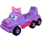 """Машинка детская """"Весёлые гонки"""" (для девочек), Фиолетовая, М4478"""