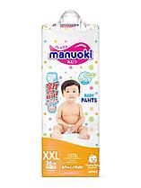 Трусики Manuoki XXL (15+кг) 36 шт