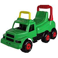 """Машинка детская """"Весёлые гонки"""" (для мальчиков), Зелёная, М4483"""