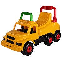 """Машинка детская """"Весёлые гонки"""" (для мальчиков), Желтая, М4482"""