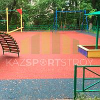 Резиновое покрытие на 36 детских площадок в городе Алматы за 2018 год. 18