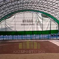 Строительство футбольного поля закрытого типа в городе Шымкент 2