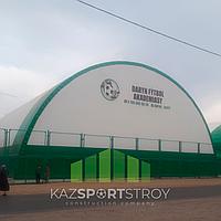 Строительство футбольного поля закрытого типа в городе Шымкент 3