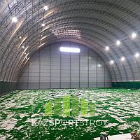 Строительство футбольного поля закрытого типа в городе Шымкент 5