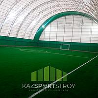 Строительство футбольного поля закрытого типа в городе Шымкент 7