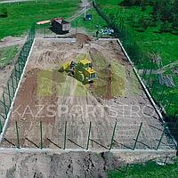 Строительство футбольного поля открытого типа. Алматинская облась, Узынагаш 6