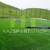 Строительство футбольного поля открытого типа. Алматинская облась, Узынагаш 10