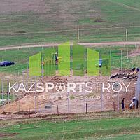 Строительство футбольного поля открытого типа. Алматинская облась, Узынагаш 2