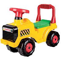 """Машинка детская """"Трактор"""", Желтая, М4943"""