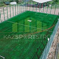 Строительство футбольного поля открытого типа. Сайрам-Су 1
