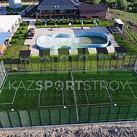 Строительство футбольного поля открытого типа. Сайрам-Су 2