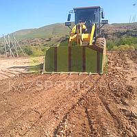 Строительство футбольного поля открытого типа. Сайрам-Су 3