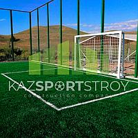 Строительство футбольного поля открытого типа. Сайрам-Су 5