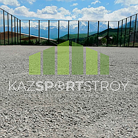 Строительство футбольного поля открытого типа. Сайрам-Су 8