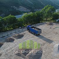 Строительство футбольного поля открытого типа. Алматинская область, Иссык 1