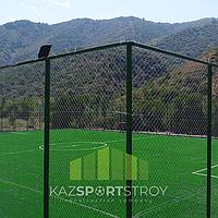 Строительство футбольного поля открытого типа. Алматинская область, Иссык 4