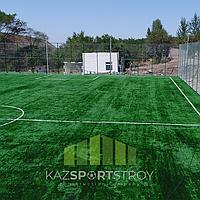 Строительство футбольного поля открытого типа. Алматинская область, Иссык 5