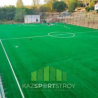 Строительство футбольного поля открытого типа. Алматинская область, Иссык 6