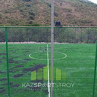 Строительство футбольного поля открытого типа. Алматинская область, Иссык 7