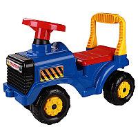 """Машинка детская """"Трактор"""", Синяя, М4942"""